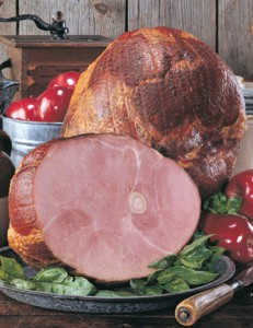 Nueske's Applewood Smoked Old Fashioned Bone-in Ham