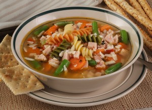 Applewood Smoked Turkey Vegetable Soup
