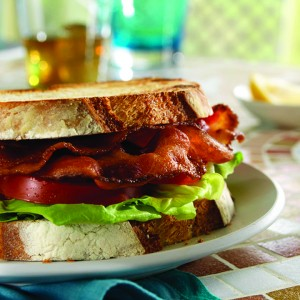 BLT made with Nueske's Smoked Bacon
