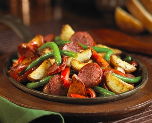 Nueske's Summer Sausage & Roasted Vegetables