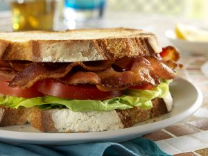 A BLT made with Nueske's Smoked Bacon.